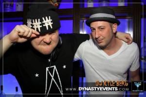 Blue Martini Resident - DJ KU & BoothPimps, DJ Kyle Berg